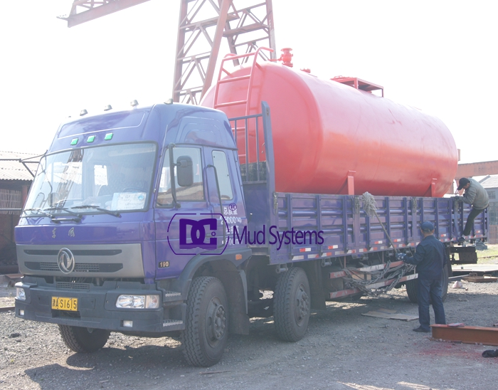 Customized diesel tank delivery to Kazakhstan