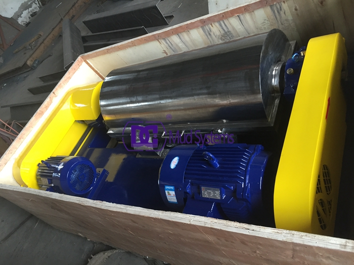DCLW355-1257 High speed decanter centrifuge shipped to Middle East