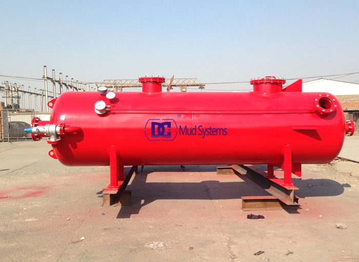 Mud Gas Separator/Poorboy degasser from DC Solid control