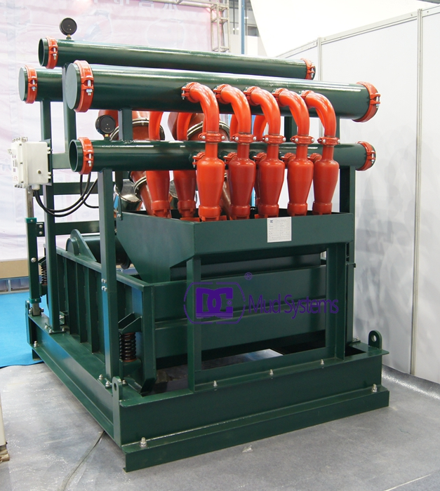 DCQJ250X2/100X12 Mud Cleaner structure and efficient work