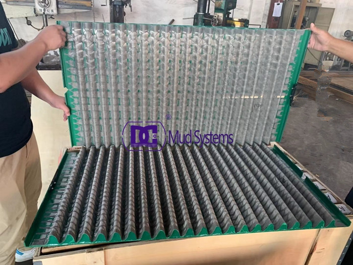 800pcs Derrick Hyperpool shaker screens shipped to foreign