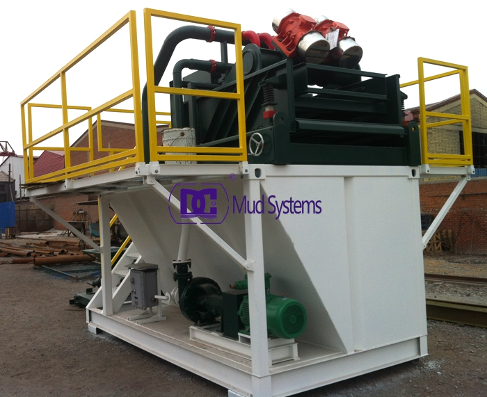 200 GPM Drilling Mud system to Australia