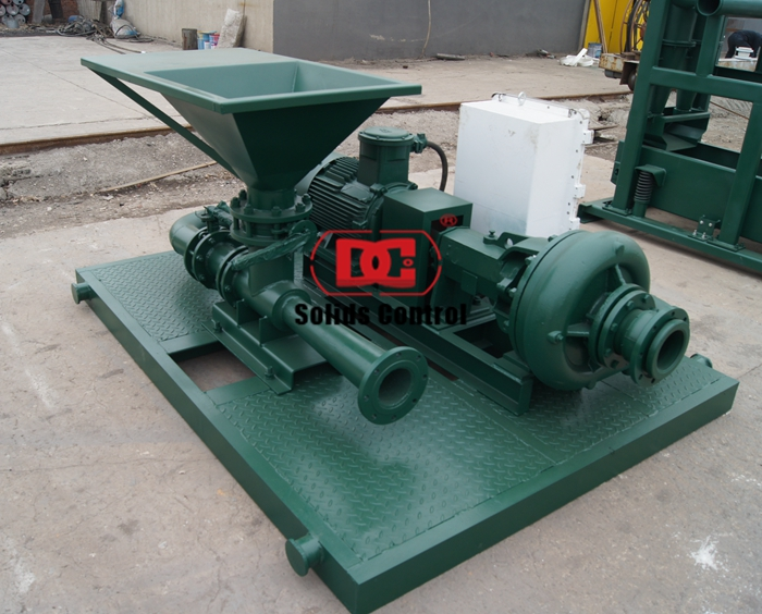 Jet mud mixer used for solid control delivery to Indonesia