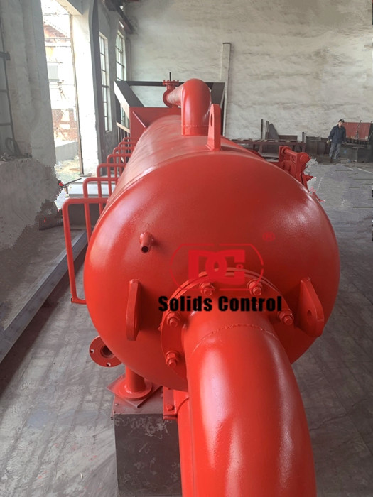 Finished the production of DCZYQ1200 Mud gas separator