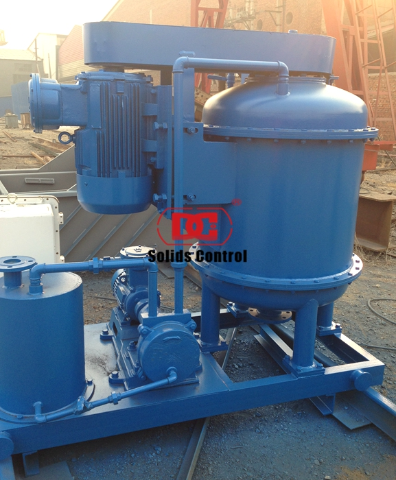 The order of 3 sets of solid control vacuum degasser