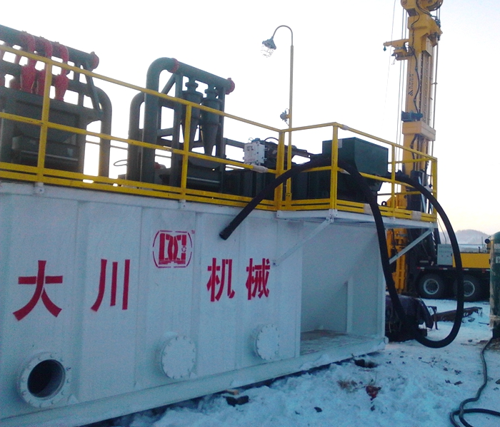 Repeat Order Of Drilling Mud System From China Coalbed Methane