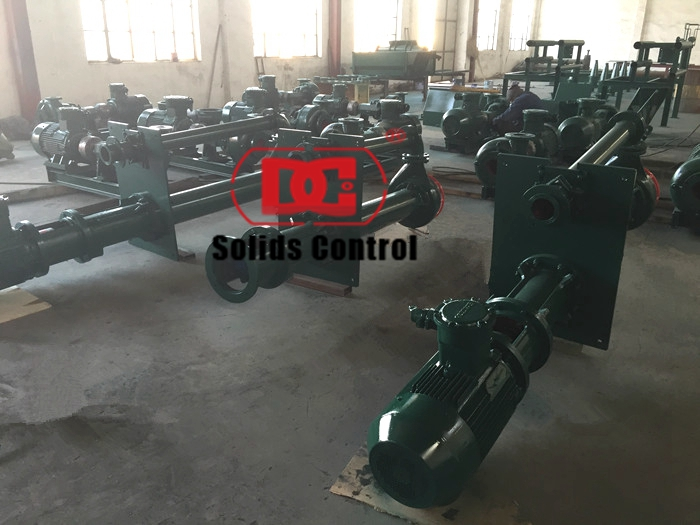 Drilling fluid centrifugal pump delivery to Singapore