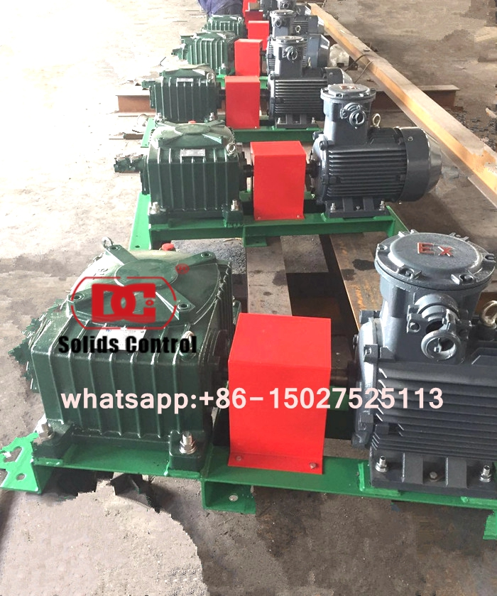 What parameters should I know when you inquiry of Mud agitators