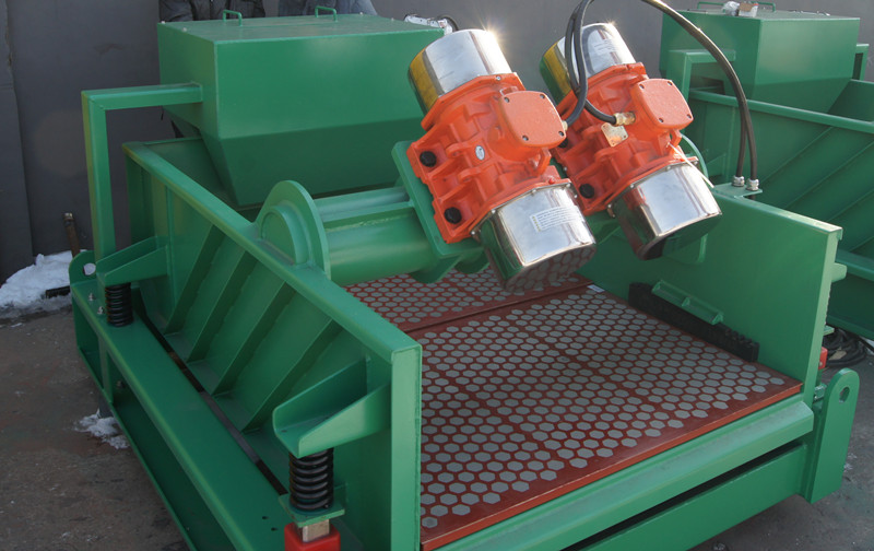 Compact Structure Of Shale Shaker For HDD Field