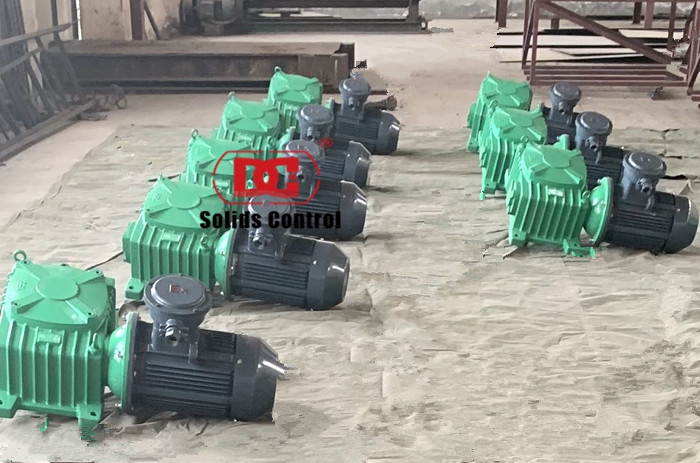 22 Sets of JBQ7.5 Mud agitator shipped to Dubai