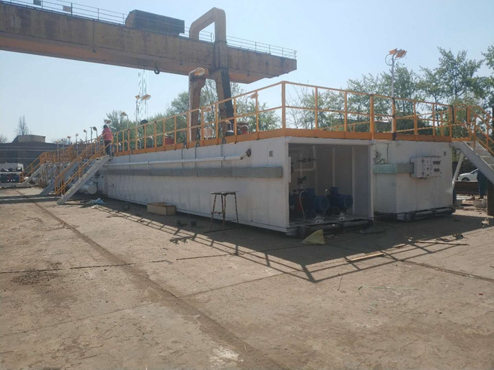 DC Mud Tank System Finished The Production for China client