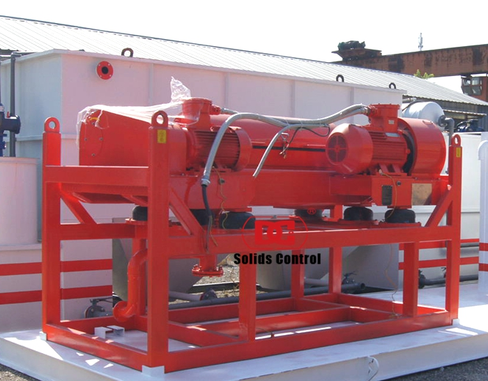 DCLW355-1250 Middle Speed Decanter centrifuge for Oil sludge treatment system