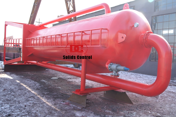 Tender project of Mud gas separator shipped to Indonesia