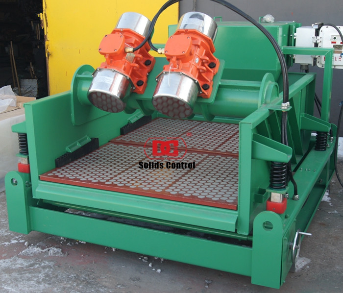 Shale shaker and mud cleaner shipped to Indonesia HDD field