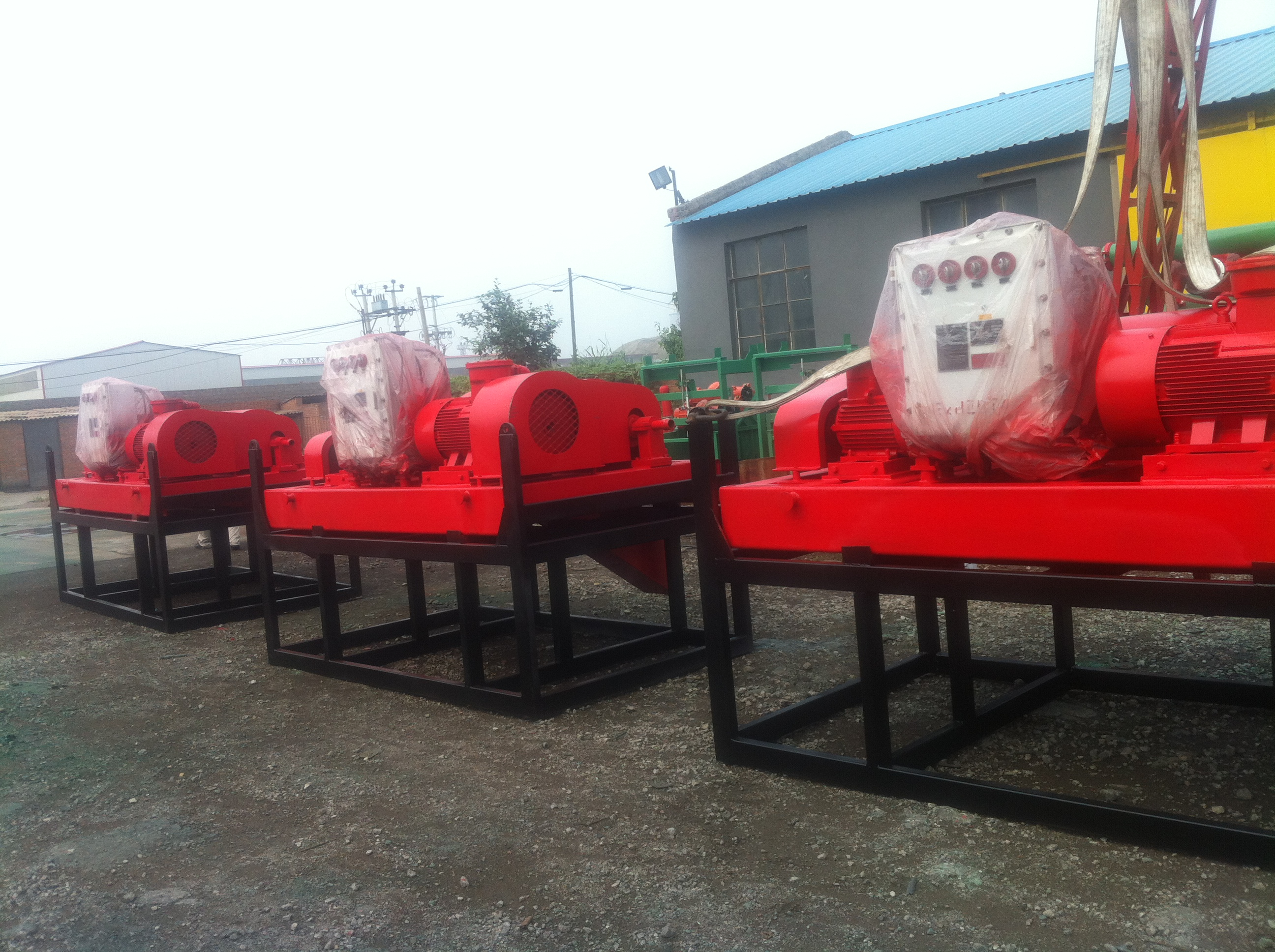 Decanter Centrifuge Shipped To Russian