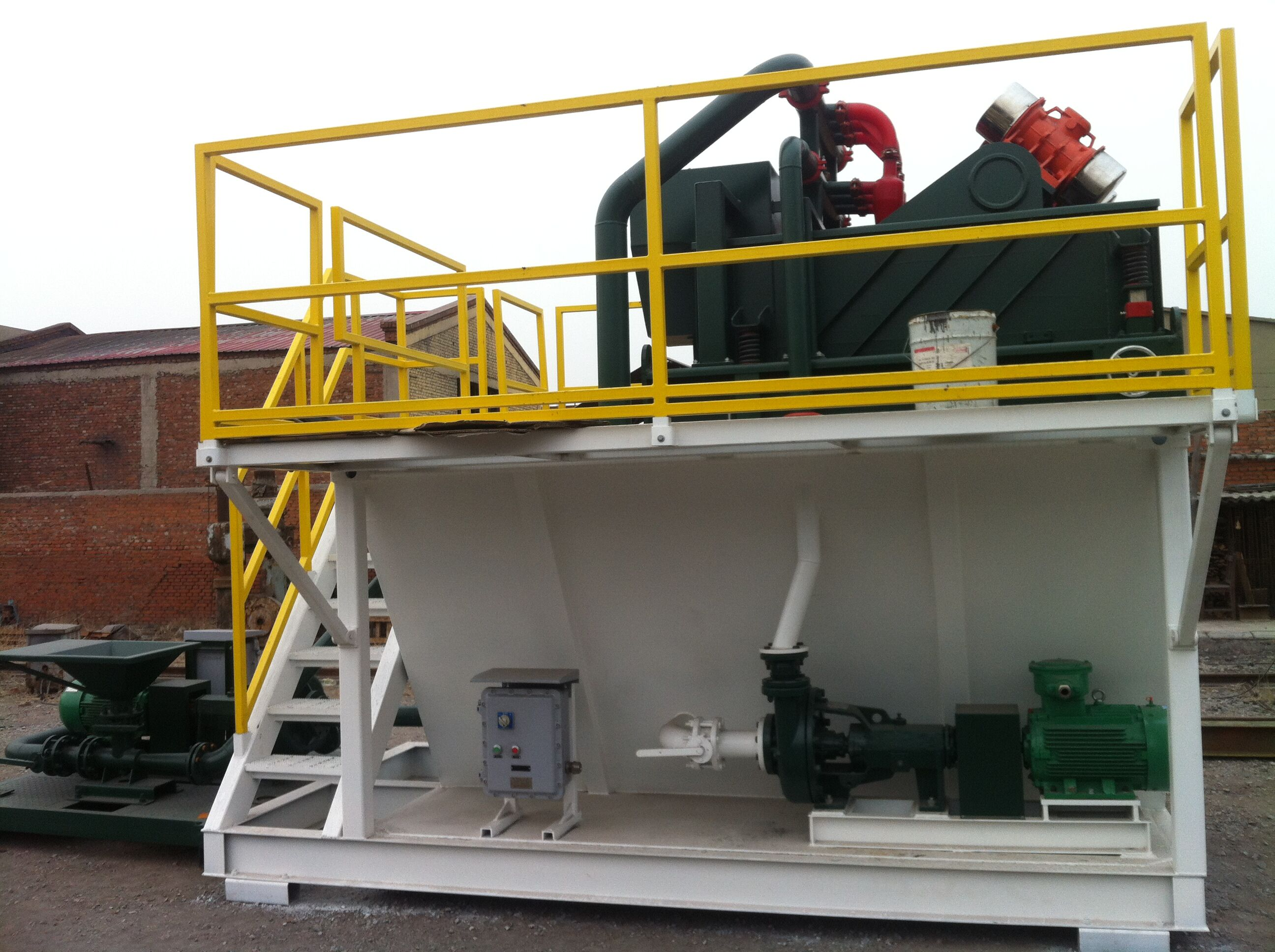 DC Compact Mud System Shipped To Newzeland Water Well Drilling